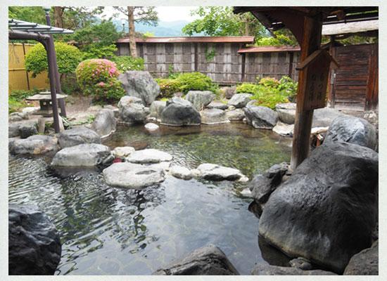 豆富懐石 猿ヶ京ホテル/庭園風露天風呂