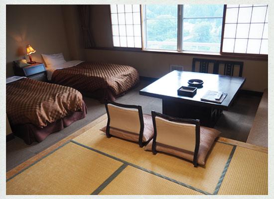 豆富懐石 猿ヶ京ホテル/客室