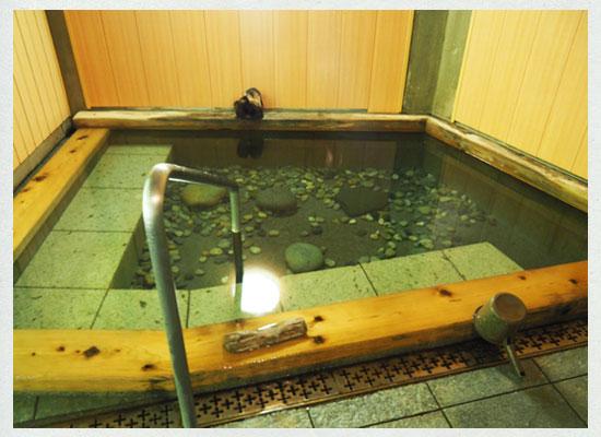 川古温泉・浜屋旅館/男湯の内湯