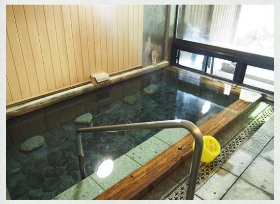 川古温泉・浜屋旅館/女湯の内湯
