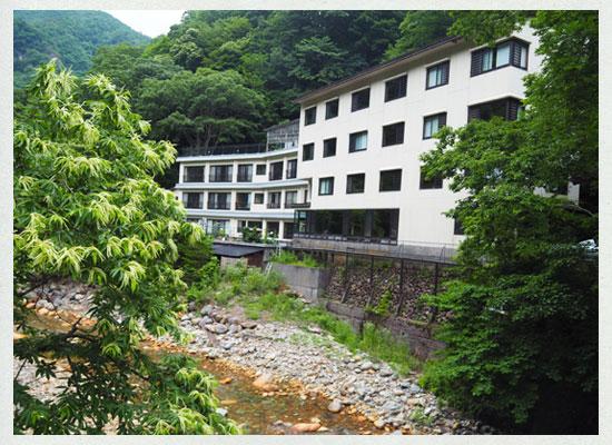 川古温泉・浜屋旅館/外観