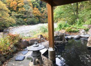 川古温泉・浜屋旅館/混浴・露天風呂