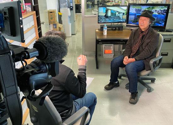 韓国公共放送KBS「特派員報告、世界はイマ」/飯出敏夫出演