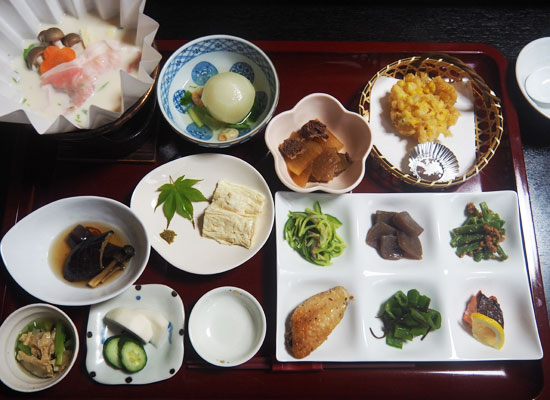 奥日光湯元温泉・紫雲荘/夕食