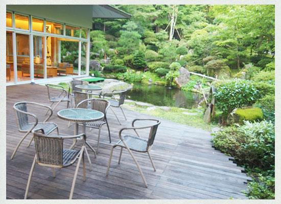 村杉温泉 風雅の宿 長生館/お庭