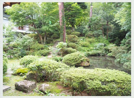 村杉温泉 風雅の宿 長生館/庭園